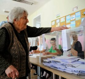 Elections in Bulgaria.