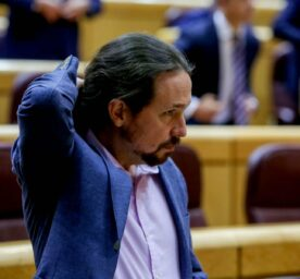 Pablo Iglesias is the former Spanish deputy prime minister and now he is running for the regional election in Madrid