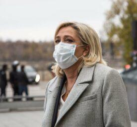 Marine Le Pen portrait.