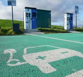 Electric vehicle chargepoints.