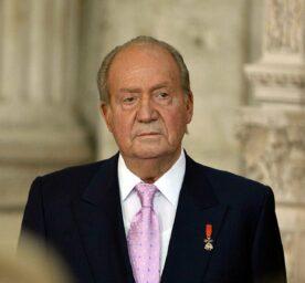 Spain King Emeritus Juan Carlos