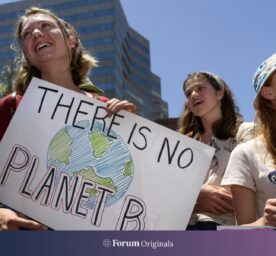 """Sign in a climate march that reads """"there is no Plan B"""""""