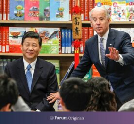 Chinese Vice President Xi Jinping, and then Vice President Joe Biden take questions from students